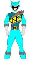 21. Power Rangers Dino Charge - Cyan Ranger