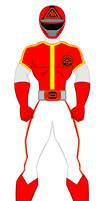 Kagaku Sentai Dynaman - Red Sentai