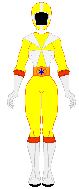 8. Power Rangers Lightspeed Rescue - Yellow Ranger by ...