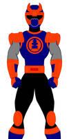 11. Power Rangers Ninja Storm - Navy Ranger
