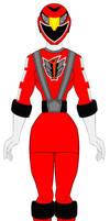 17. Power Rangers Rpm - Red Ranger Girl