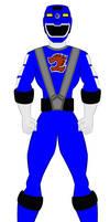 17. Power Rangers Rpm - Blue Ranger