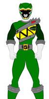 21. Power Rangers Dino Charge - Green Ranger