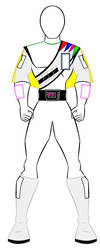J.A.K.Q Dengekitai Outline Boy by PowerRangersWorld999