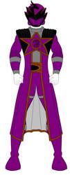 Uchu Sentai Kyuranger -  Purple Sentai by PowerRangersWorld999