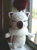 Moogle doll by mammalfeathers