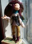 Mina - faun - art doll