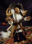 Kano the monster - art doll