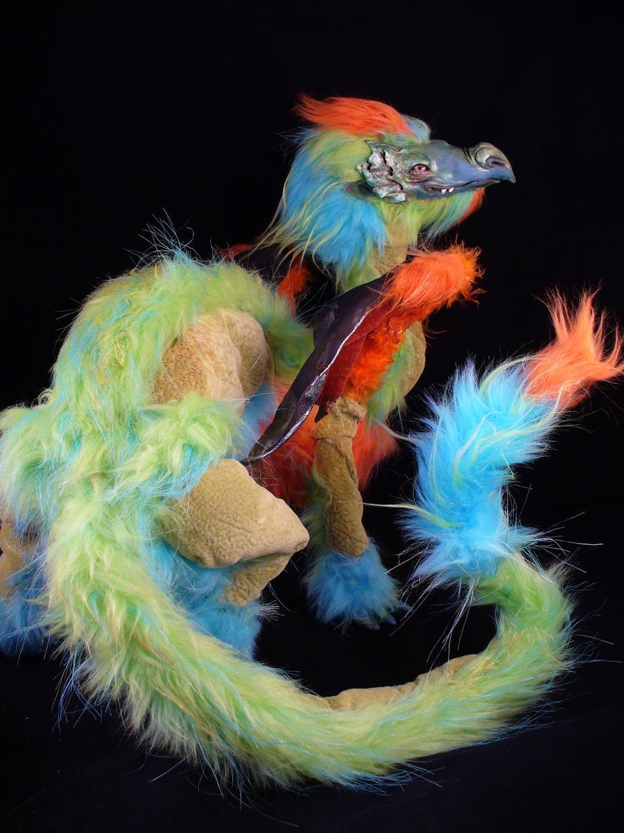 Custom Dragon #1 - iasio by mammalfeathers