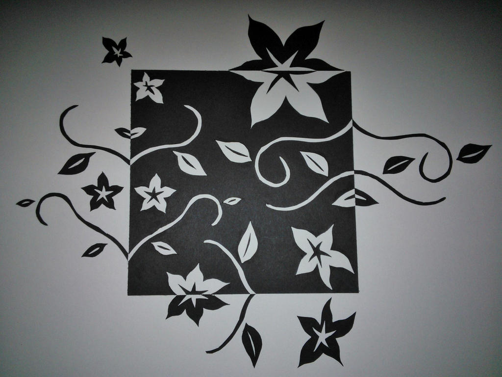 2D Design: Notan Project by GoodGirl-BadGirl