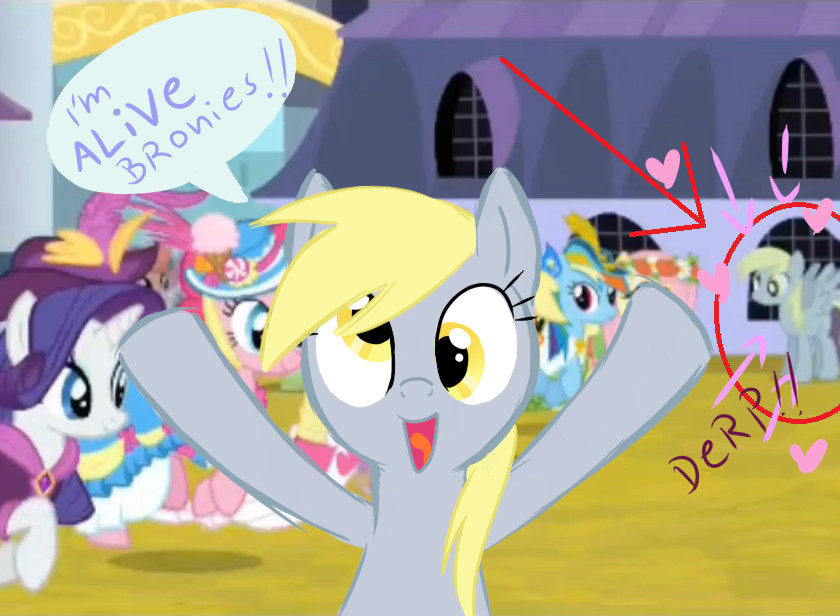 derpy is alive!! by cheryl-jum