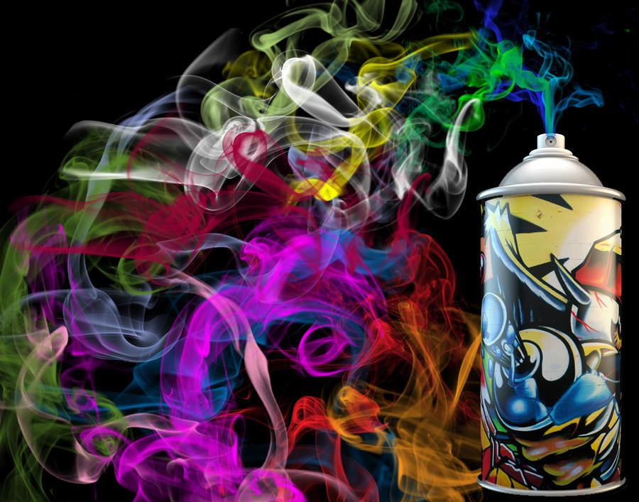 Graffiti Smoke Wallpaper By JadonV