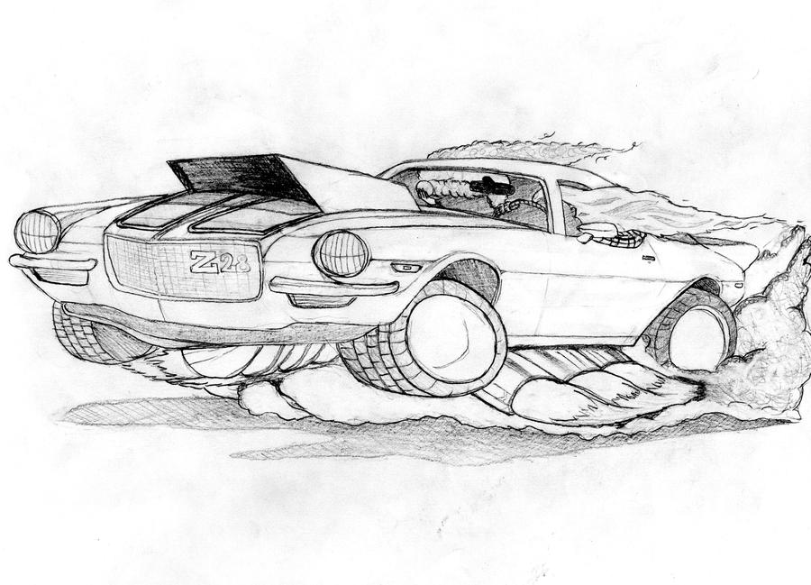 70 chevelle coloring pages