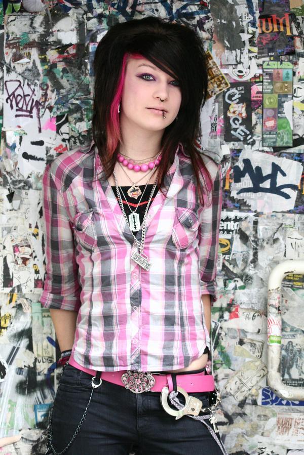Emo Girl 2 By Forgottener On Deviantart