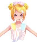 MMD-WIP Harajuku Sweet lolita Rin