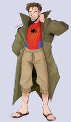 Peter B. Parker (Hobo Spider-Man) by Olivia8888