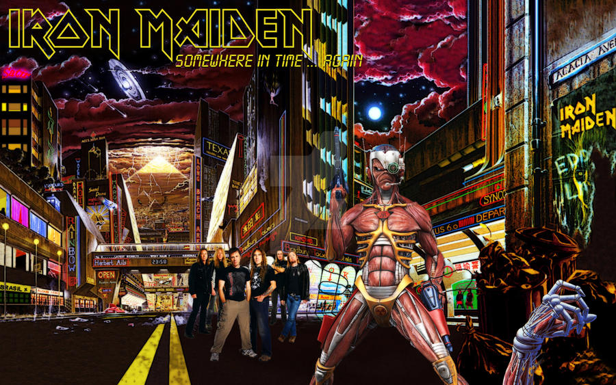 Iron Maiden - Somewhere in time . . . Again by croatian ...