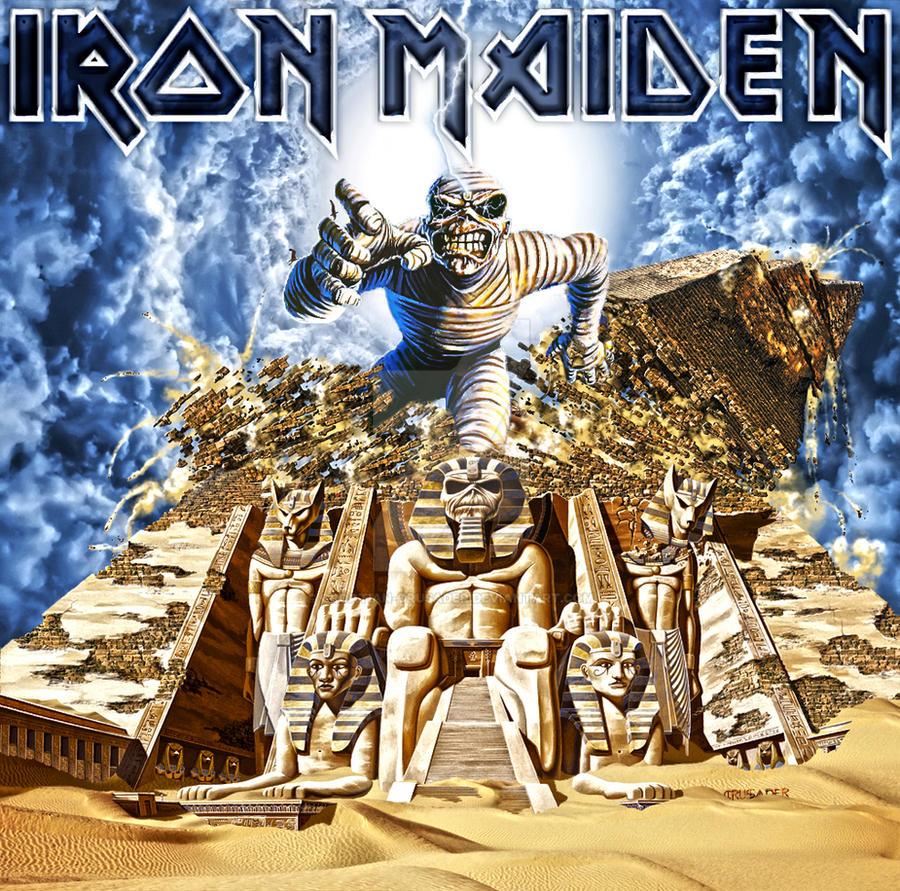 iron maiden powerslave back in time ii by croatian crusader on deviantart. Black Bedroom Furniture Sets. Home Design Ideas