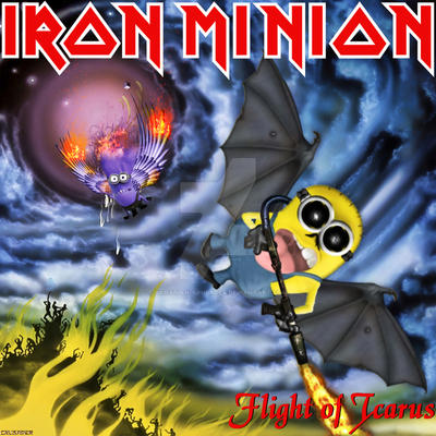 Iron Minion - Flight of Icarus by croatian-crusader