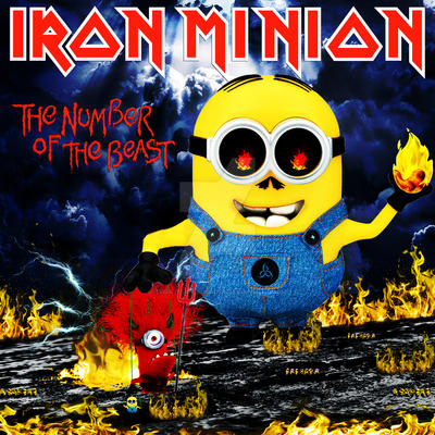 Iron Minion - The Number of the Beast by croatian-crusader