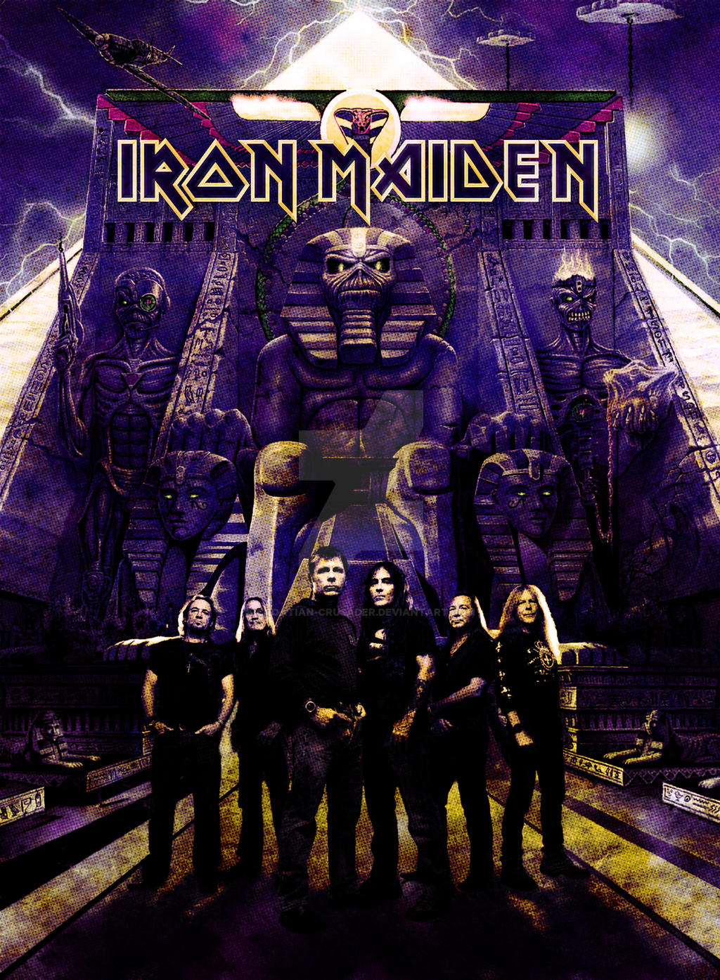 iron maiden somewhere back in time edit by croatian
