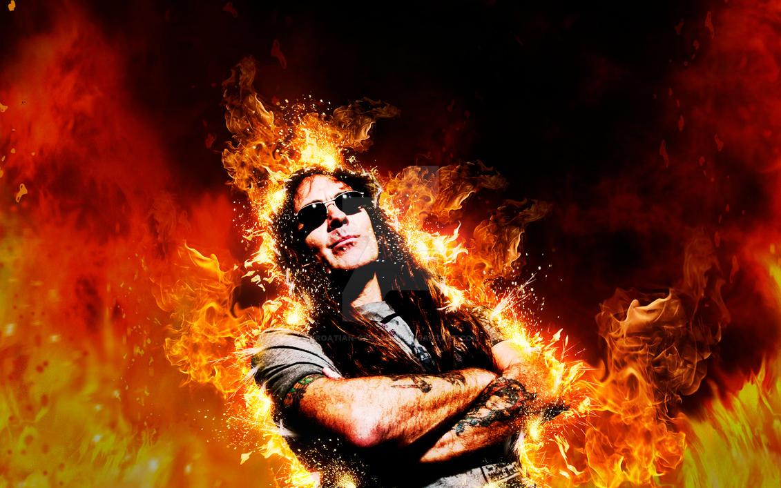 Steve Harris - Iron Maiden by croatian-crusader
