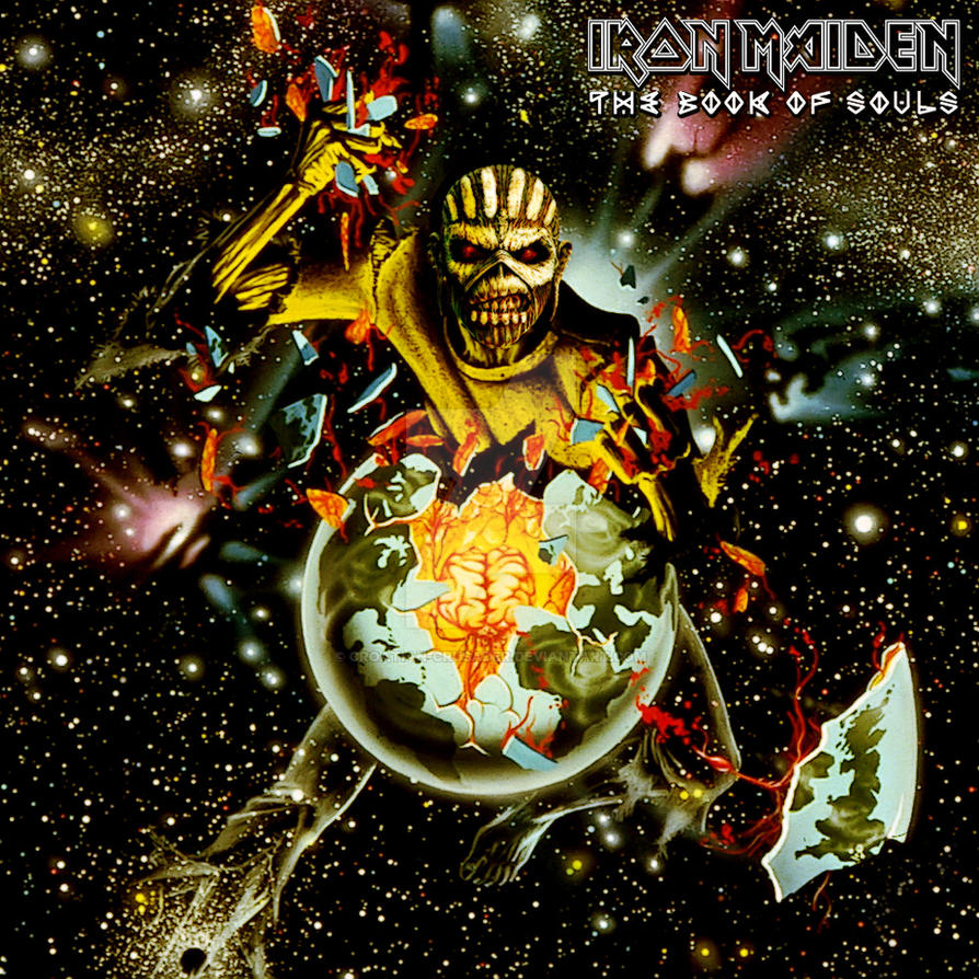 Iron Maiden - Book of Souls XI by croatian-crusader