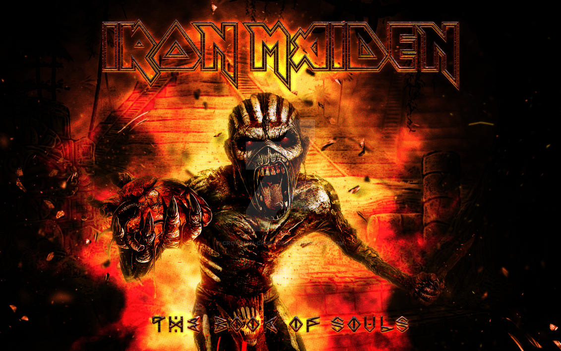 Iron Maiden The Book Of Souls Xxiv By Croatian Crusader On Deviantart