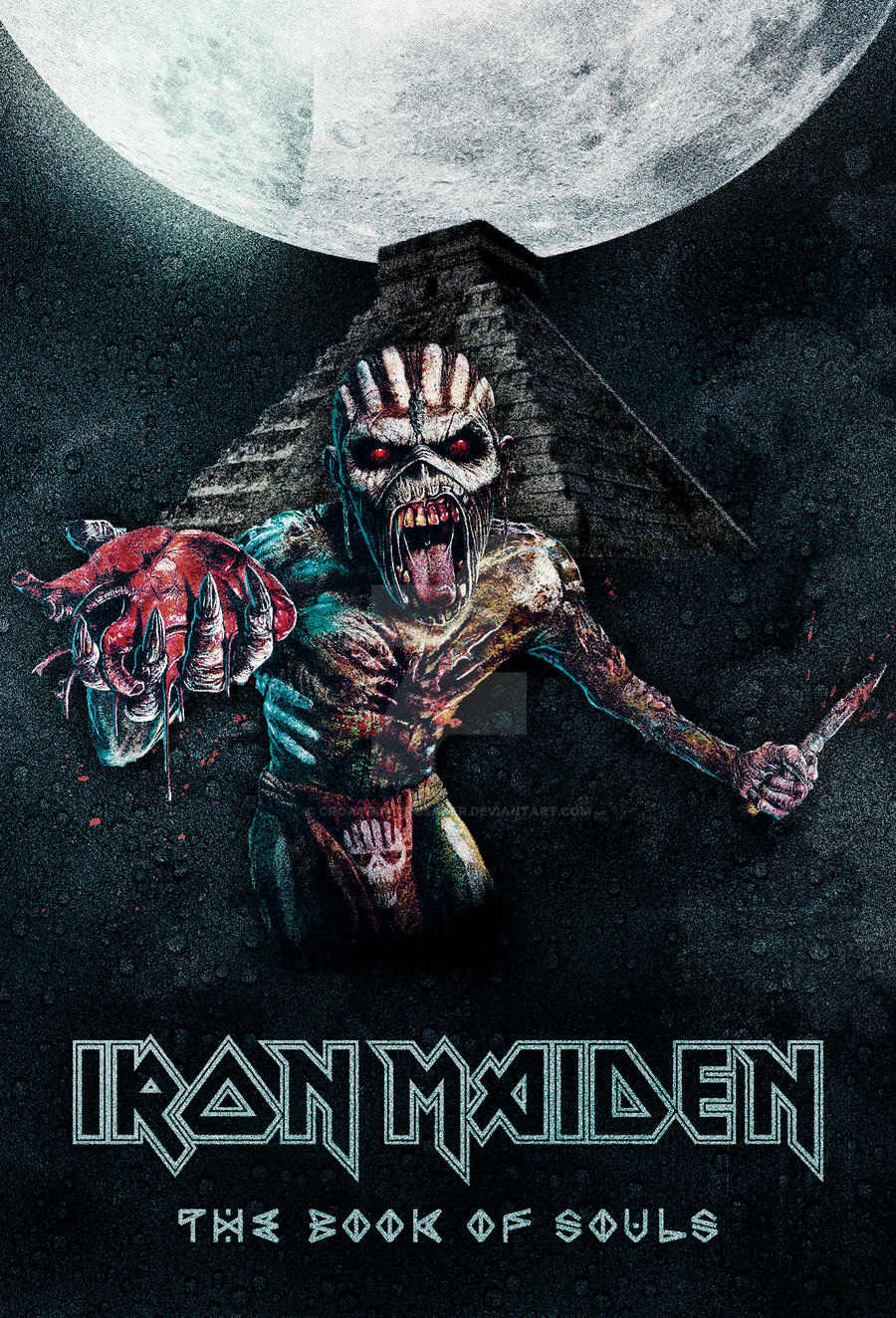 Iron Maiden The Book Of Souls Poster By Croatian Crusader On Deviantart