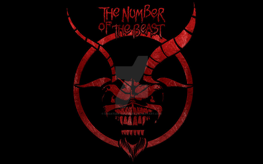 iron maiden the number of the beast by croatian crusader on deviantart