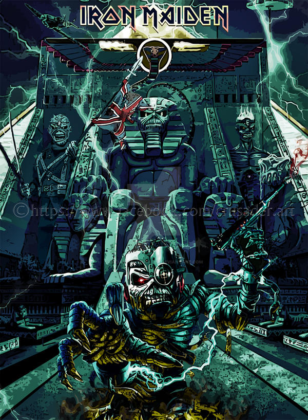 Iron Maiden by croatian-crusader