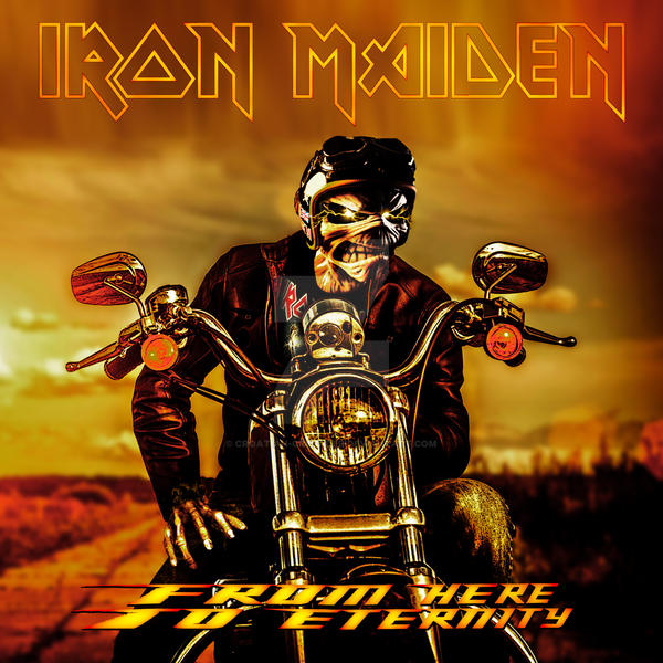 Iron Maiden - From Here to Eternity by croatian-crusader