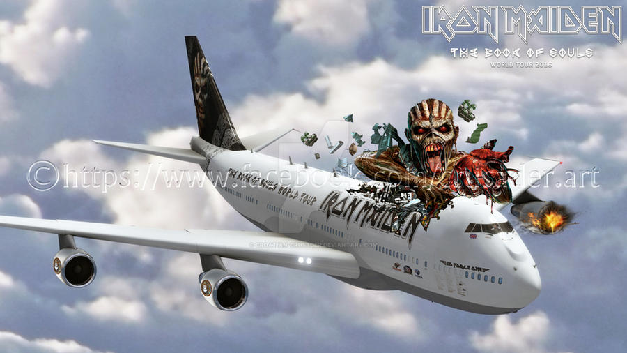iron maiden ed force one by croatian crusader on deviantart. Black Bedroom Furniture Sets. Home Design Ideas