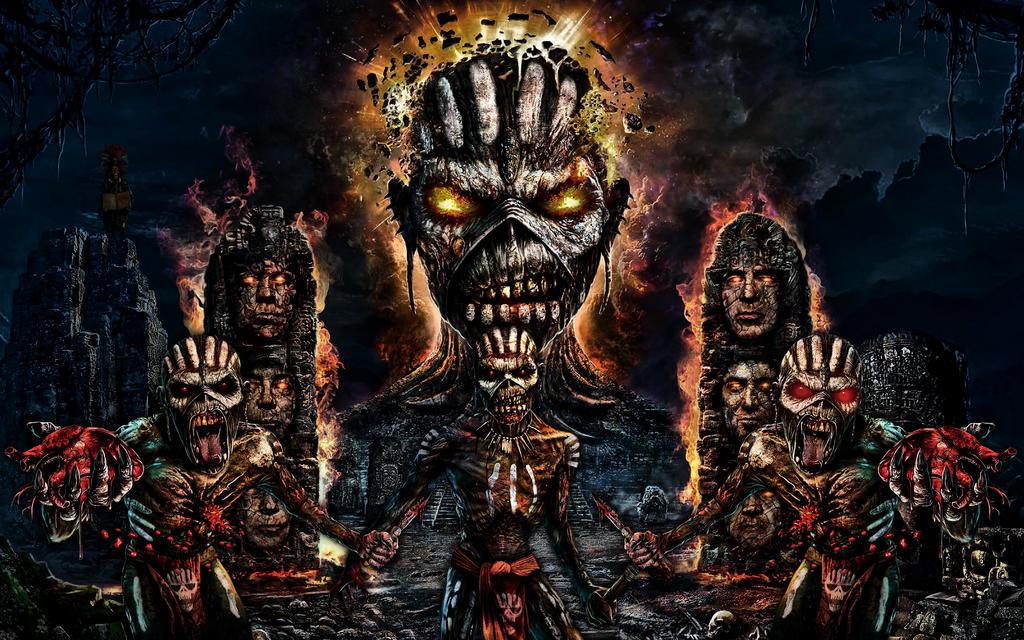 Iron Maiden - Singles + Live