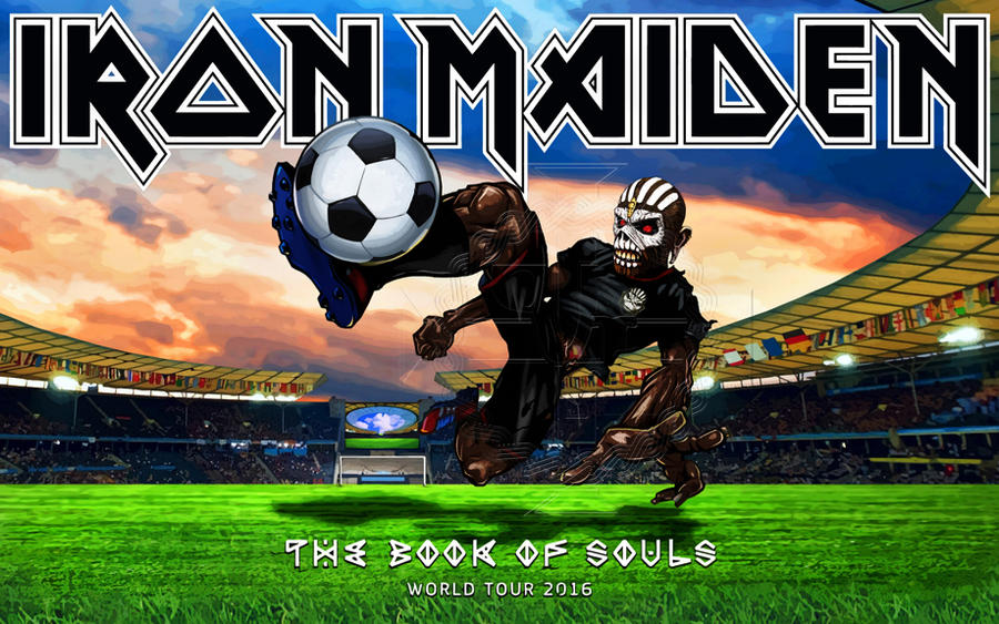 Iron Maiden - TBOS world tour 2016 II by croatian-crusader