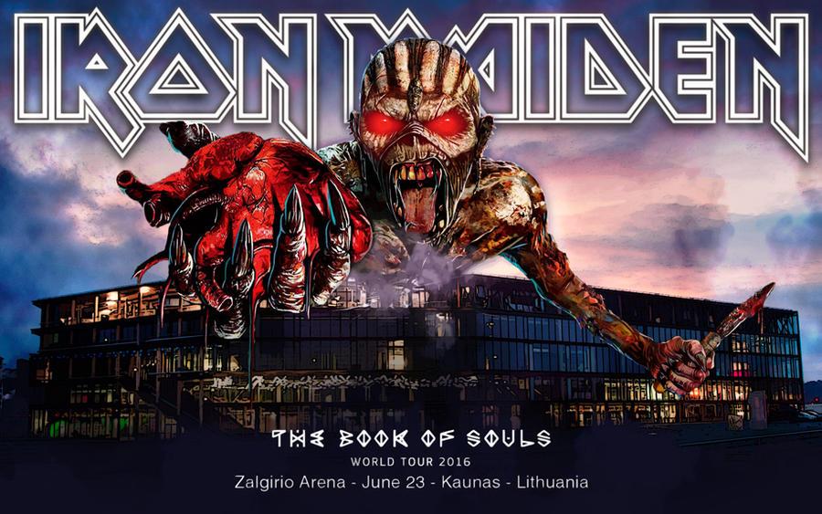 Iron Maiden - TBOS world tour 2016 - Kaunas - LT by croatian-crusader