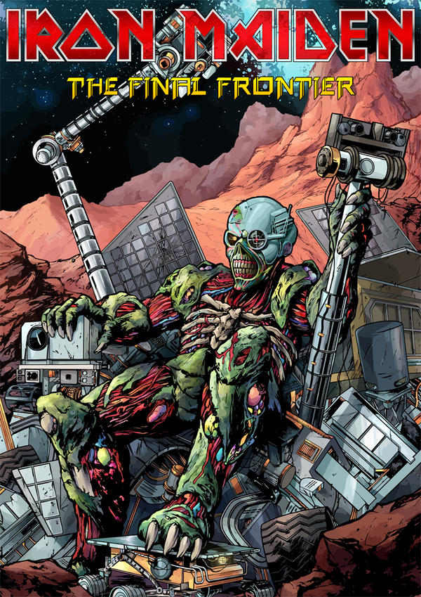 Iron Maiden - The Final Frontier II by croatian-crusader ...