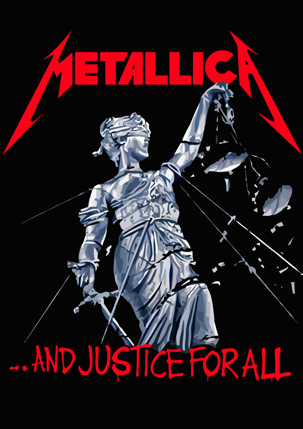 MetallicA - ...And Justice for All by croatian-crusader on ...