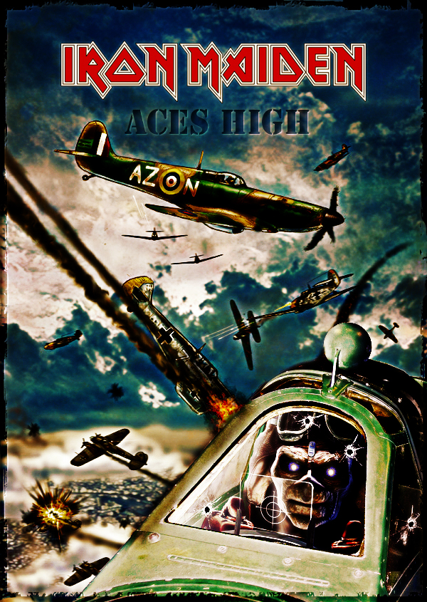 Iron Maiden - Aces High by croatian-crusader