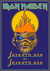 Iron Maiden - Seventh Son of a Seventh Son by croatian-crusader