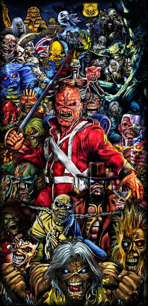 Iron Maiden  collage