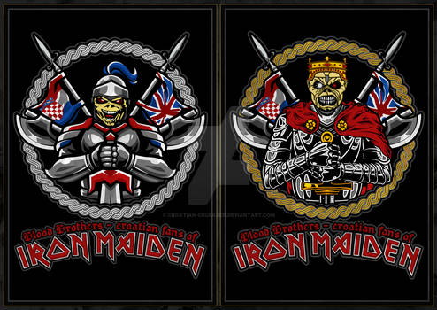 Blood Brothers - croatian fans of Iron Maiden