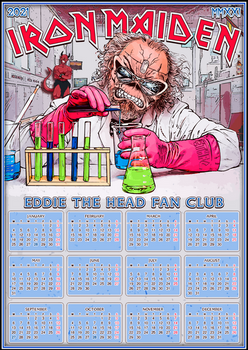 Iron Maiden / ETHFC 2021 Calendar