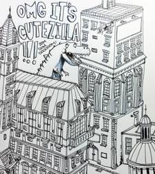 Cutezilla by lekoolkiwi