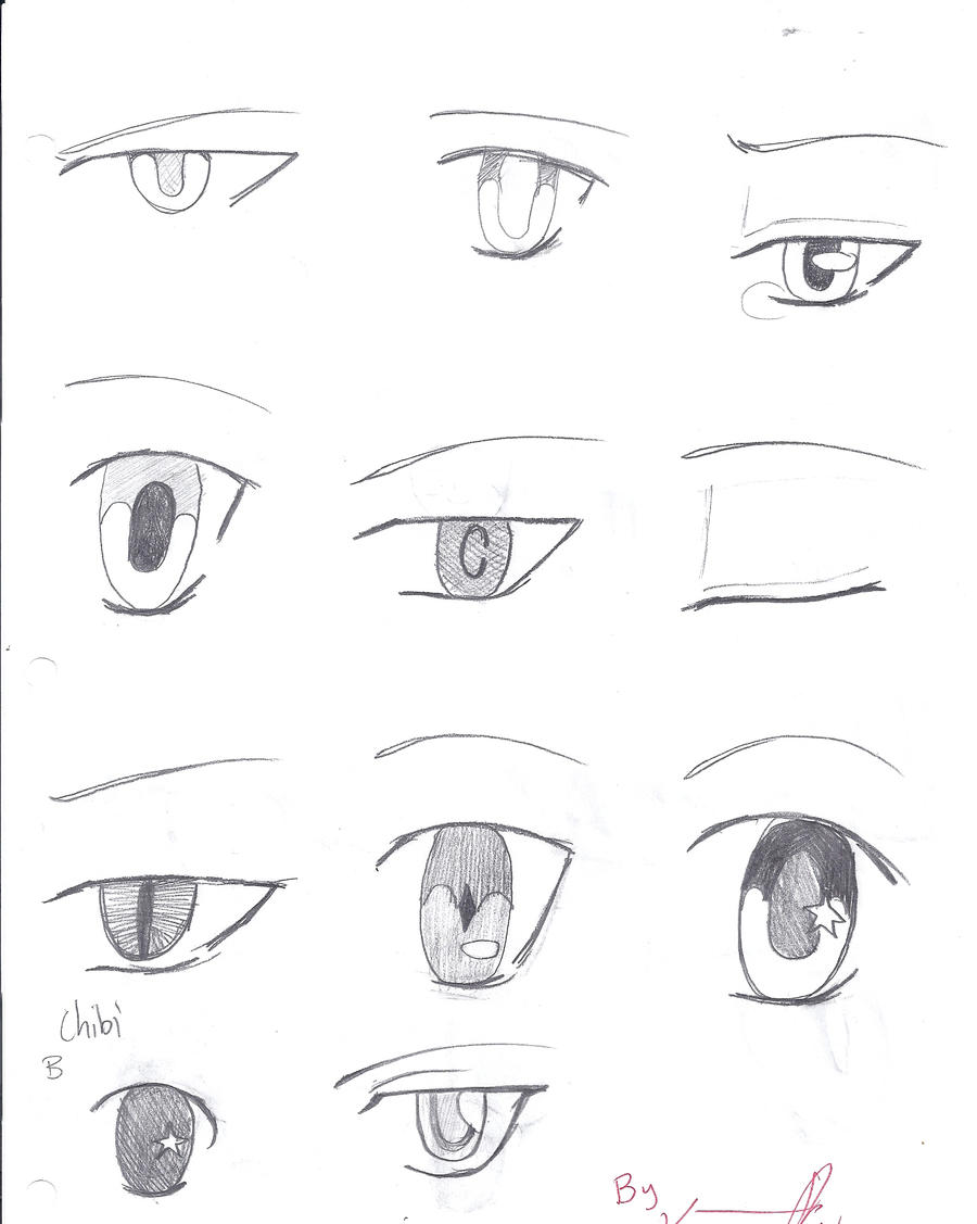 Anime Eyes 2!! By TheAwesomeness0330 On DeviantArt