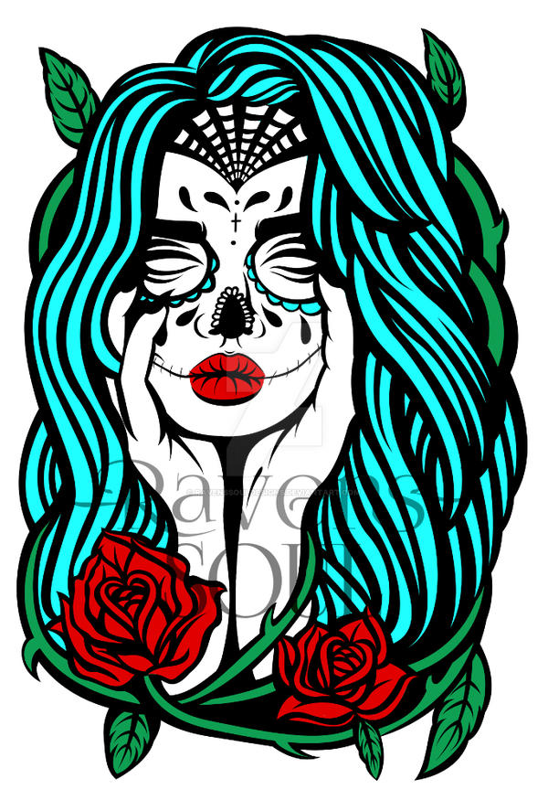 Day Of The Dead (REVISION) by RavensSoulDesigns