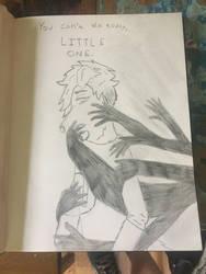 Taken By Sleep 1 -Sketch by Oakie-Dokie