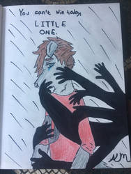 Taken By Sleep 1 -Coloured by Oakie-Dokie