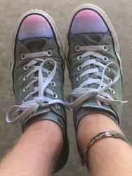 Bi Pride Converse by Oakie-Dokie