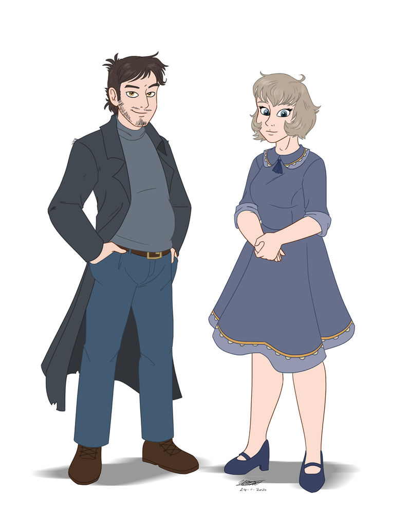 Templeton and Charlene - commission